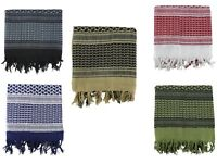 Military Shemagh Cotton Head Sand Scarf Wrap SAS Face Disguise Arab Keffiyeh UK