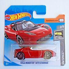 Hot Wheels Tesla Roadster with Starman