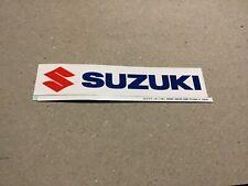 SUZUKI TEAM RACING  STICKER MOTORCYCLE MOTO GP DIRT BIKE MOTOCROSS CAR RALLY