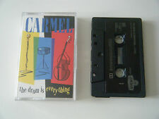 CARMEL THE DRUM IS EVERYTHING CASSETTE TAPE 1984 PAPER LABEL LONDON UK