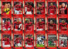 Manchester United 2010 Football League Cup final winners trading cards