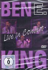 DVD NEU/OVP - Ben E. King - Live In Concert