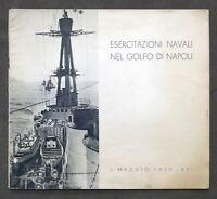 Marina - Esercitazioni Navali nel Golfo di Napoli - 5 Maggio 1938