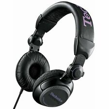 TECHNICS RP-DJ1200E-K BLACK Professional DJ Headphones RPDJ1200EK RP-DJ1200