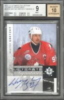 2011-12 Ultimate Collection Signatures Wayne Gretzky Auto BGS 9 MINT Team Canada