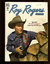 Roy Rogers Comics #20 VGFN Trigger Begins, Photo Cover