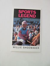 MIAMI PROJECT The Buoniconti Fund 1990 Legends Dinner CARD Willie Shoemaker