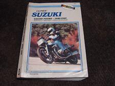 CLYMER SUZUKI GS 1100 FOURS 1980-1981 SERVICE REPAIR BOOK GUIDE MANUAL M378