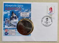 Bund - Numisbrief - 1992 - Olympische Spiele Albertville 1992