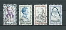 FRANCE - 1961 YT 1288 à 1291 - TIMBRES OBL. / USED
