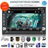 "6.2"" Double 2Din Car Stereo DVD Player GPS Navi Bluetooth FM Radio iPod +Camera"