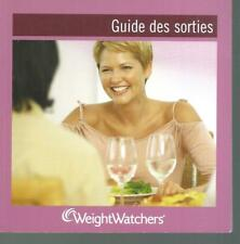 WeightWatchers. Guide des sorties SV3