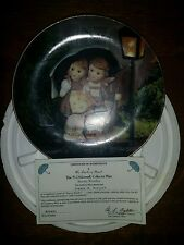 Mj Hummel Little Comp. Plate - Stormy Weather - Danbury Mint 1992 W/Coa (1)(3B)