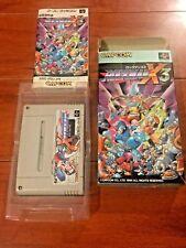Rockman X3 Complete in Box Super Famicom Game (Capcom 1995) - US SELLER