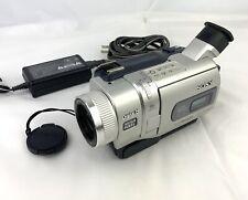 Sony Handycam Dcr-Trv840 Digital-8 Camcorder Bundle - Tested Working