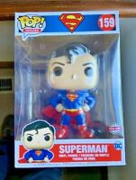 "HUGE Superman 10"" Funko Pop Vinyl New in Box"