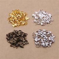 100pcs Silber/Gold/Bronze/Weiß Beschichtet Anhänger Halskette Verbindung  Gift
