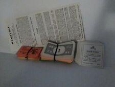 Vintage 1961 Monopoly Game Pieces - Money, Title Deeds, Chance & Community ch.