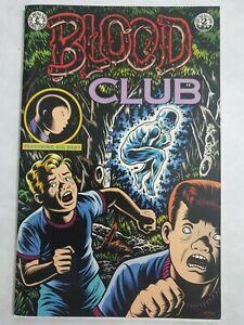 BLOOD CLUB 2  Charles Burns Kitchen Sink Press First Print Rare OPP VF-