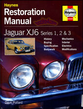 JAGUAR XJ6 MANUAL RESTORATION SHOP BOOK XJ 6 HOW TO RESTORE REPAIR XJ12 12 68-87