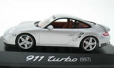 MINICHAMPS - PORSCHE 911 Turbo (997) - silber - 1:43 in OVP /Box - WAP02013216