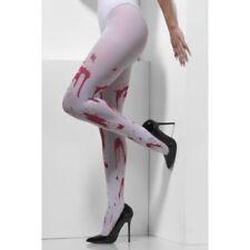 Collant, autoreggenti e parigine da donna bianco lavabile in lavatrice, taglia taglia unica