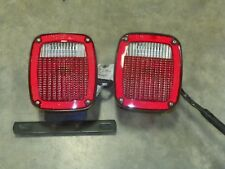 GROTE 5370 5371 TAIL LIGHTS TRAILER Truck Ford RV Chassis Semi L Bracket &Wiring