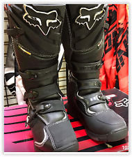 Fox Racing Comp 5  Off Road Dirt Bike Motocross Boots  Black Size 8