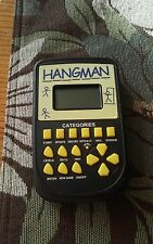 2013 Westminster Inc. Hangman Electronic Hand-Held LCD Game - Works Great -