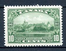 Canada MLH #215 KGV Silver Jubilee Windsor Castle 1935 Lovely Centering  J301