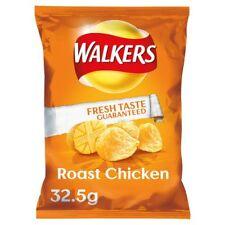 Walkers Patatine POLLO ARROSTO-quantità 16x 32.5 G Sacchetti-UK Snack Salato