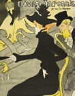 """Henri de Toulouse-Lautrec : """"Divan Japonais"""" (1892) — Giclee Fine Art Print"""