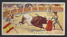 WILLS-SPORTS OF ALL NATIONS-#26- SPAIN - BULL FIGHT