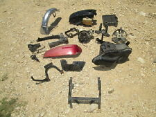 1975 Honda GL1000 Gas Tank Front Fender Brake Pedal Electrical Etc Parts Lot