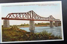 Cornwall Ont. Roosevelt International Bridge Postcard @1920