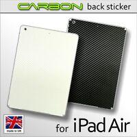 3D Textured CARBON Fibre BACK Vinyl Wrap Sticker Skin Cover for iPad Air