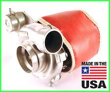 TD06H Big 16G 18G 20G ECLIPSE DSM TURBO BLANKET TURBOCHARGER HEAT SHIELD - Red