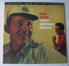 BING CROSBY - BING SINGS WHILST BREGMAN SWINGS MFSL VINYL LP MFSL 1-260