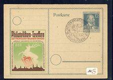57834) AB Zudruck GA P 965 Stephan Dresden Phila-Treffen, SST blanco