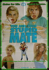 You And Your Stupid Mate (2005) Australian One Sheet RACHEL HUNTER ANGUS SAMPSON
