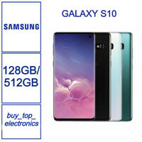 LIKE NEW Samsung Galaxy S10 SM-G973F 128GB BLK / White/Green 1 Year Warranty