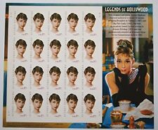 2003 AUDREY HEPBURN LEGENDS OF HOLLYWOOD #3786 Pane Of 20 X 37 Cents US Postage