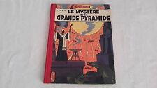 JACOBS BLAKE ET MORTIMER LE MYSTERE DE LA PYRAMIDE 2  EO LOMBARD TOILE  1954 TBE