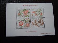 MONACO - timbre yvert et tellier bloc n° 44 n** (Y2) stamp