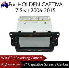 "7"" Car DVD GPS Head Unit Navigation For 2006-2015 HOLDEN CAPTIVA 7 Seat"