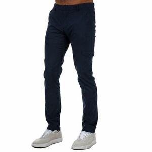 Men's Henri Lloyd Chino combat Trousers in Blue