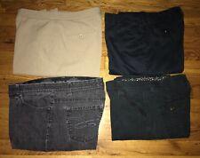 Lot 4 Womens Pants & Jeans Size 12 Lee Style & Co Rafaella