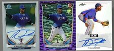 Ti'Quan Forbes 2014 Bowman Chrome AU/Bowman Blue Bubble Refractor/Leaf Draft AU