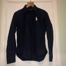 Polo golf Ralph Lauren long sleeved navy buttoned shirt