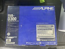 New listing Alpine Iva-D300 7 Inch Lcd Monitor Car Dvd Player